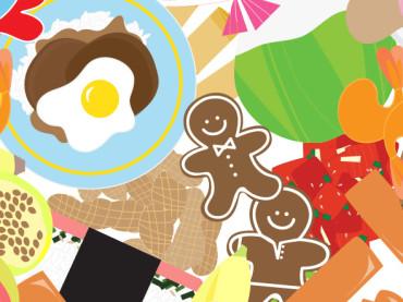 """Tasty Tuesday"" Illustrations"